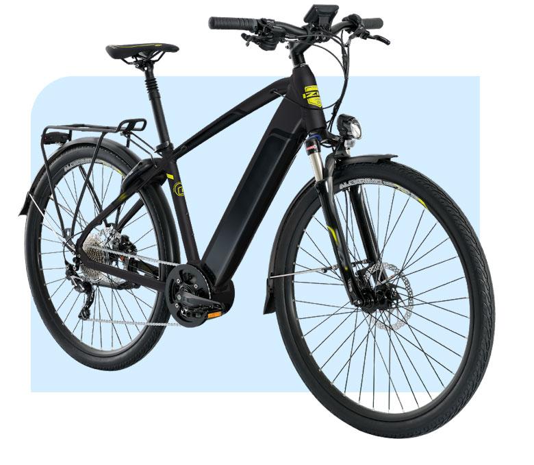 City bike models